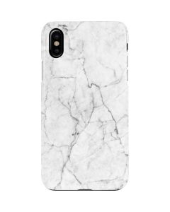 White Marble iPhone XS Lite Case