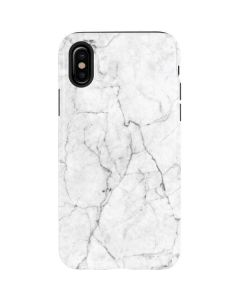 White Marble iPhone XS Pro Case