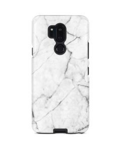 White Marble LG G7 ThinQ Pro Case