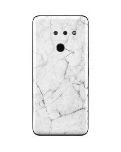White Marble LG G8 ThinQ Skin