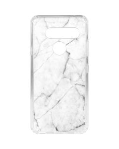 White Marble LG V40 ThinQ Clear Case