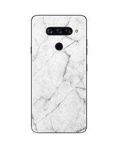 White Marble LG V40 ThinQ Skin