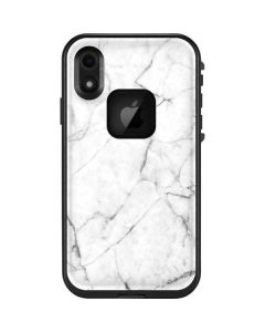 White Marble LifeProof Fre iPhone Skin