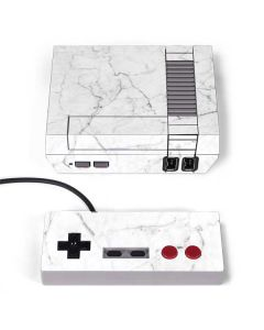White Marble NES Classic Edition Skin