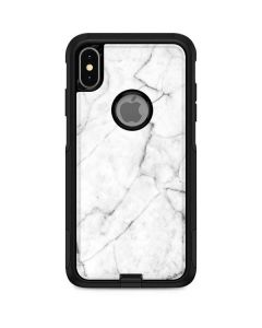 White Marble Otterbox Commuter iPhone Skin