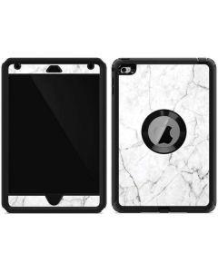 White Marble Otterbox Defender iPad Skin