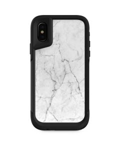 White Marble Otterbox Pursuit iPhone Skin