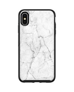 White Marble Otterbox Symmetry iPhone Skin