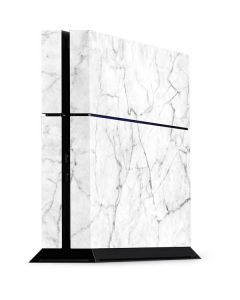 White Marble PS4 Console Skin