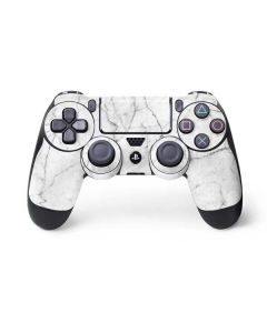 White Marble PS4 Controller Skin