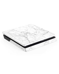 White Marble PS4 Slim Skin