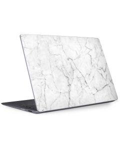 White Marble Surface Laptop 2 Skin