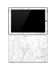 White Marble Surface Pro 3 Skin