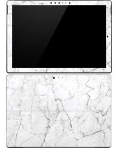 White Marble Surface Pro 4 Skin