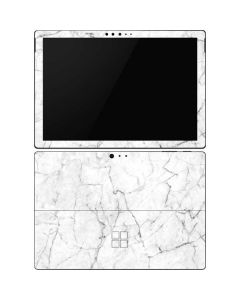 White Marble Surface Pro 6 Skin