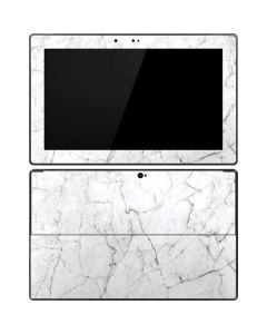 White Marble Surface Pro Tablet Skin