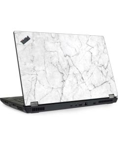 White Marble Lenovo ThinkPad Skin