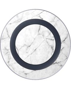 White Marble Wireless Charger Skin
