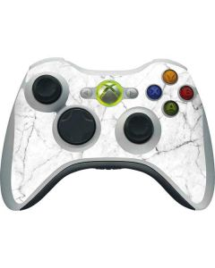 White Marble Xbox 360 Wireless Controller Skin