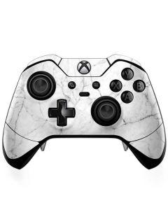White Marble Xbox One Elite Controller Skin
