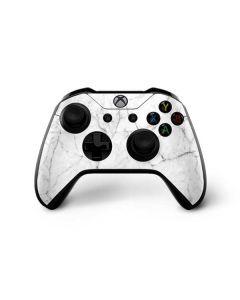 White Marble Xbox One X Controller Skin