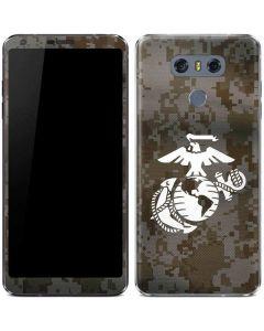 White Marine Earth Eagle LG G6 Skin