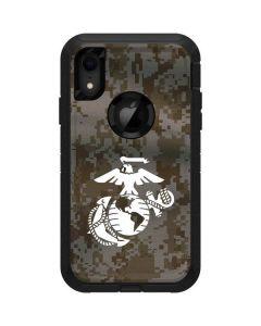 White Marine Earth Eagle Otterbox Defender iPhone Skin
