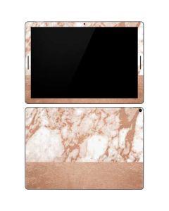 White Rose Gold Marble Google Pixel Slate Skin