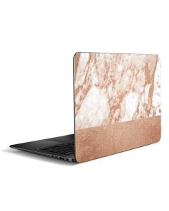 White Rose Gold Marble Zenbook UX305FA 13.3in Skin