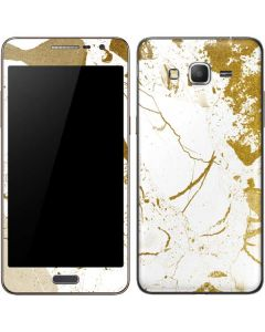 White Scattered Marble Galaxy Grand Prime Skin
