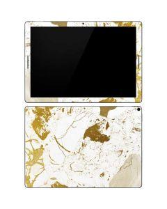White Scattered Marble Google Pixel Slate Skin