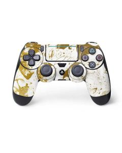 White Scattered Marble PS4 Pro/Slim Controller Skin
