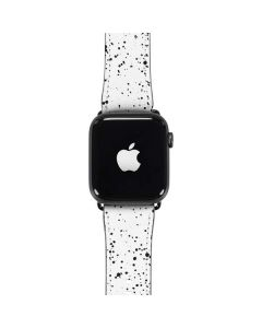 White Speckle Apple Watch Band 42-44mm