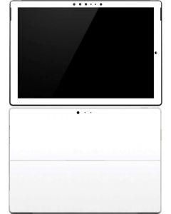 White Surface Pro 4 Skin