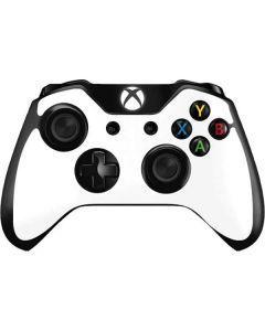 White Xbox One Controller Skin