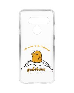 Who Wants To Be Gudetama LG V40 ThinQ Clear Case