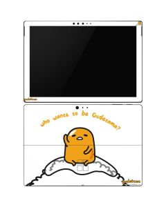 Who Wants To Be Gudetama Surface Pro 6 Skin