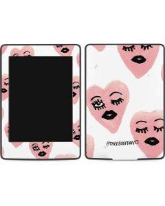 Winking Hearts Amazon Kindle Skin