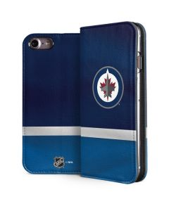 Winnipeg Jets Alternate Jersey iPhone 8 Folio Case
