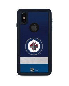 Winnipeg Jets Alternate Jersey iPhone X Waterproof Case