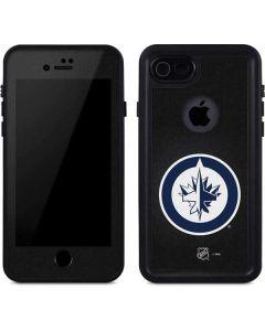 Winnipeg Jets Black Background iPhone 7 Waterproof Case