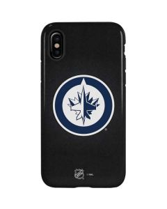 Winnipeg Jets Black Background iPhone X Pro Case