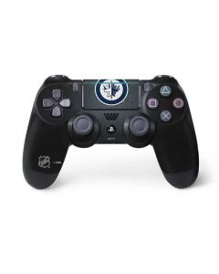 Winnipeg Jets Black Background PS4 Pro/Slim Controller Skin