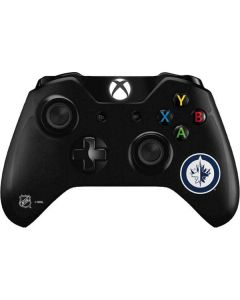 Winnipeg Jets Black Background Xbox One Controller Skin