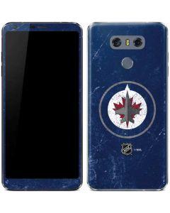 Winnipeg Jets Distressed LG G6 Skin