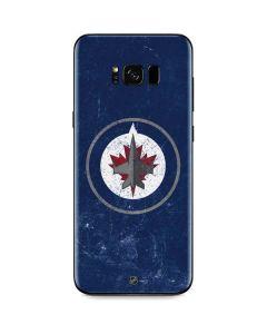 Winnipeg Jets Distressed Galaxy S8 Plus Skin
