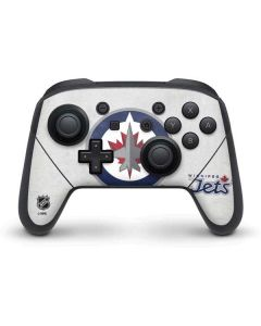 Winnipeg Jets Distressed Nintendo Switch Pro Controller Skin