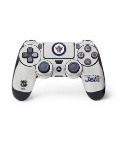Winnipeg Jets Distressed PS4 Controller Skin