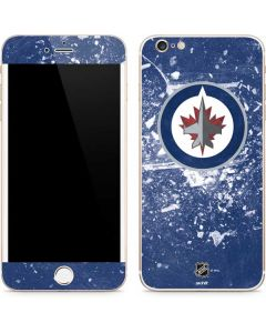 Winnipeg Jets Frozen iPhone 6/6s Plus Skin