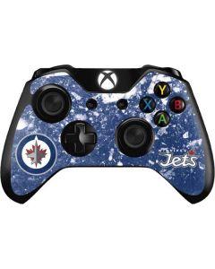 Winnipeg Jets Frozen Xbox One Controller Skin